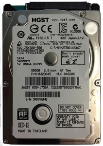 HDD 1000GB hitachi
