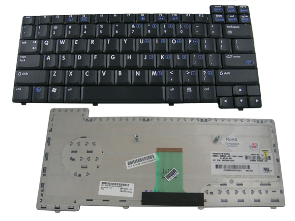 keyboard HP NX6120, NX6100, NX6320, NC6120, NC6320