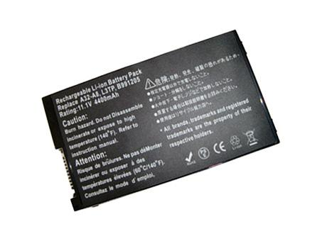 Pin Asus A8000, A8, F80, N80, X80, Z99 - 6cell OEM. PN : A32-A8, 90-NF51B1000